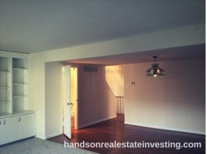 Dining Room w/ Hardwood Floors beginner real estate investor how to invest in real estate