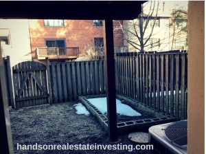Fenced-In Backyard beginner real estate investor how to invest in real estate