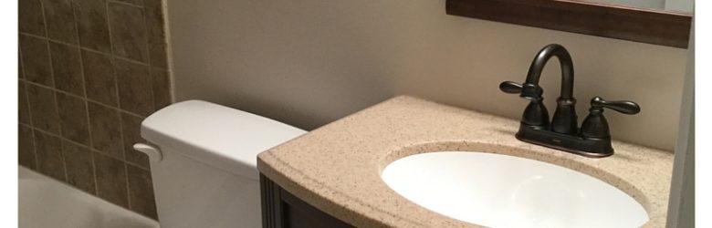 Full Bathroom Addition Complete! beginner real estate investor how to invest in real estate handsonrealestateinvesting