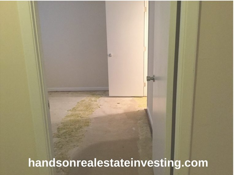 Water Damage Flooring beginner real estate investing how to invest in real estate