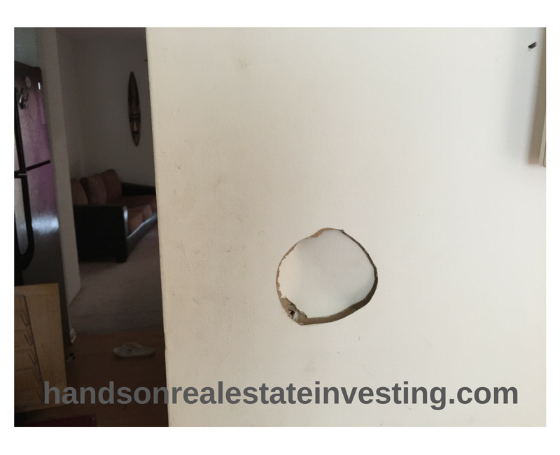 Dining Room Hole in the Wall beginner real estate investor how to invest in real estate